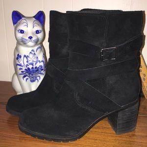 Clarks Malvet Doris Boot Black